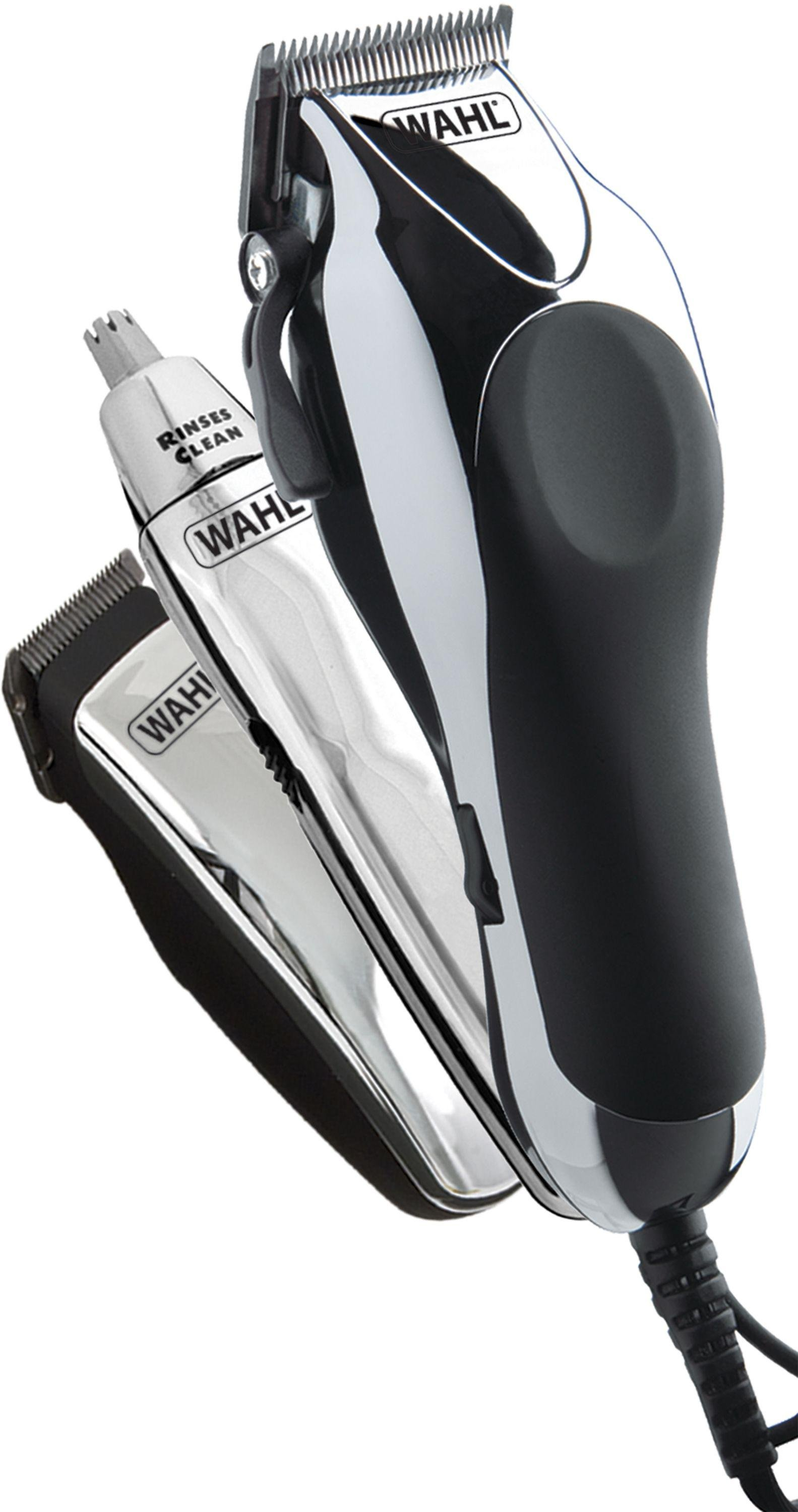 wahl deluxe chrome pro hair clipper kit gay times uk. Black Bedroom Furniture Sets. Home Design Ideas