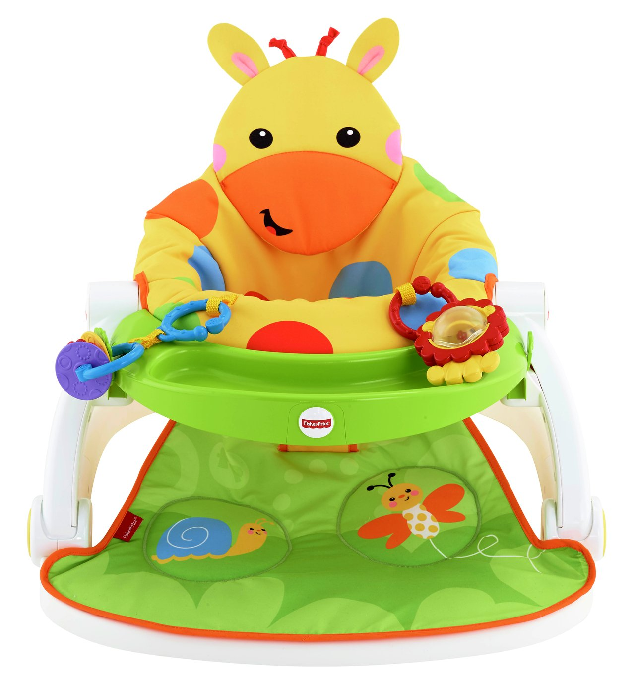 Image of Giraffe Sit-Me-Up Feeding - Booster Seat with Tray
