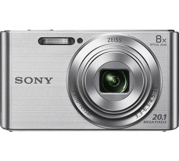 Buy Sony Cybershot W830 20MP 8x Zoom Compact Digital Camera At