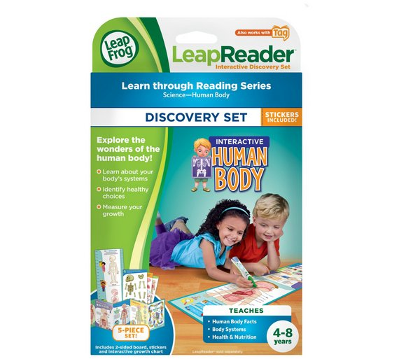 Buy leapfrog interactive human body discovery set electronic leapfrog interactive human body discovery set gumiabroncs Choice Image