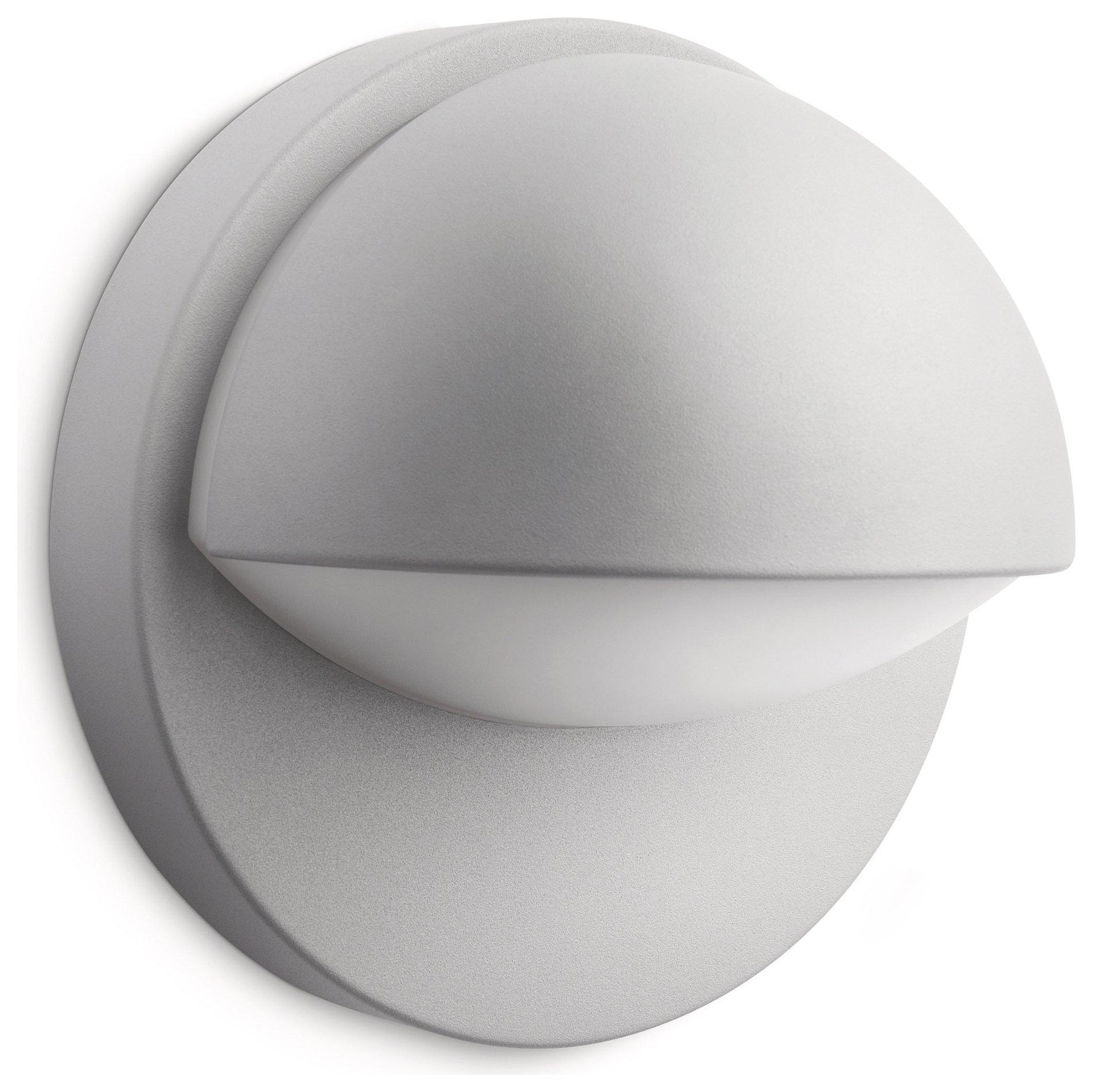 Image of Philips - myGarden - June Energy Saving - Wall Light - Grey
