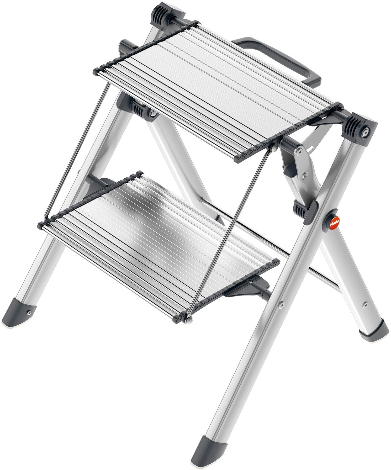Sale On Hailo 2 Tread Folding Mini Comfort Step Hailo