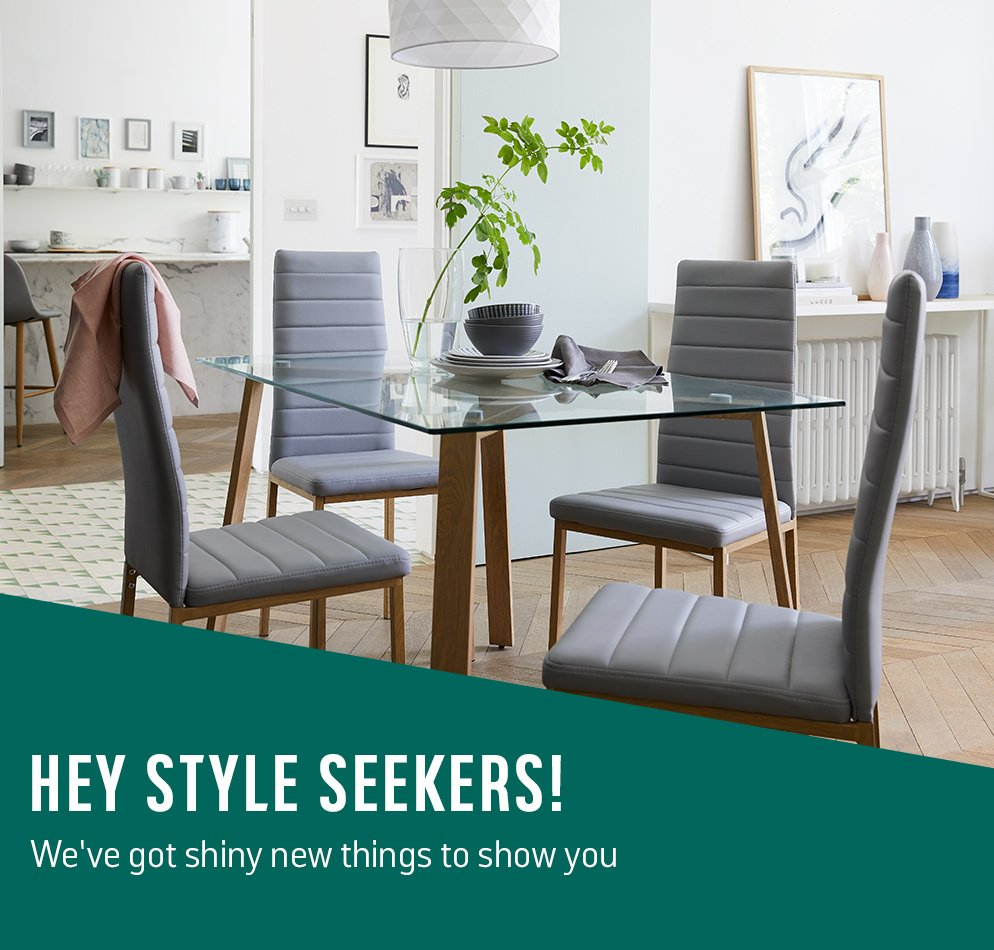 Hey style seekers! We've got shiny new things to show you.