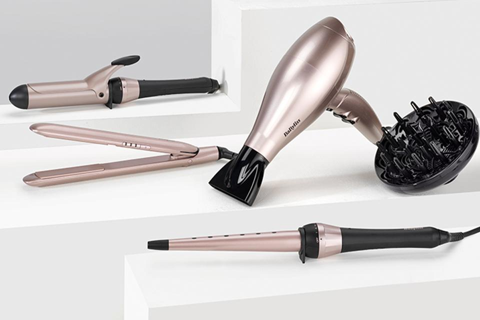 BaByliss Keratin Shine collection.