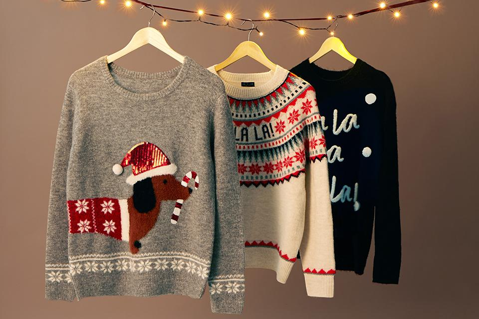 Christmas jumpers.