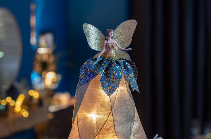 Argos Home Enchanted Christmas Woodland Fairy Tree Topper.