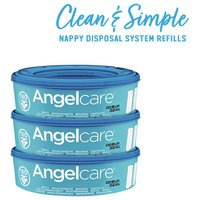 Angelcare - Refill Cassettes - 3 pack