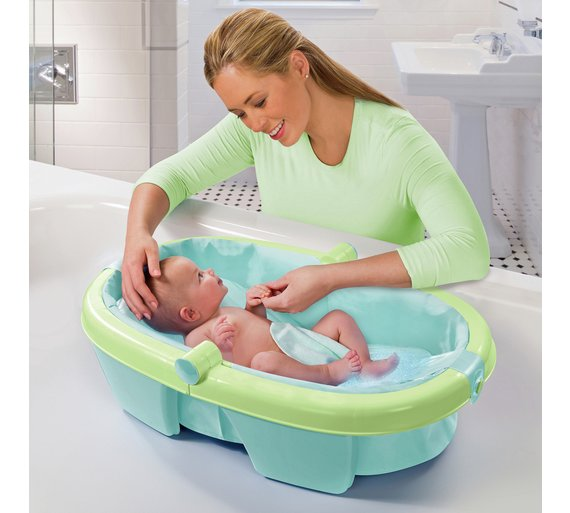 amazon com size white to infant baby standard tub fit bath newborn dp safety single toddler
