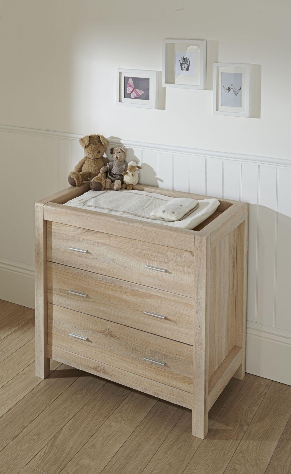 Tutti bambini milan oak chest changer review Nursery chest of drawers with changer