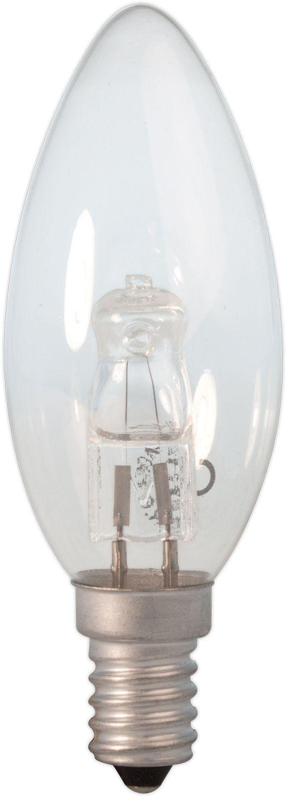 Image of Calex Halogen Candle Clear Glass Dimmable Bulbs - 10 Pack