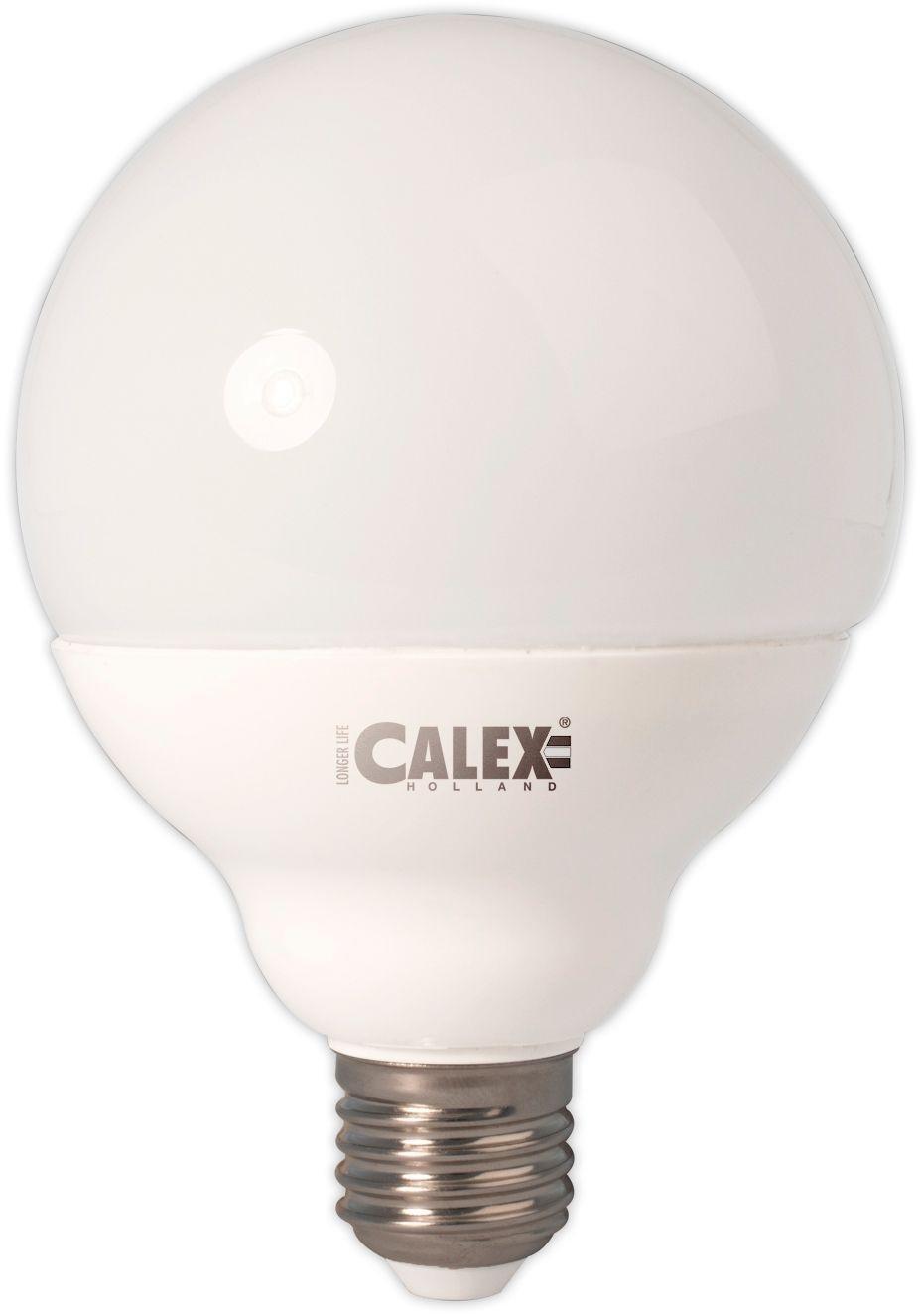 Image of Calex 11W Warm White Opal Globe Lamp E27 Dimm Bulb