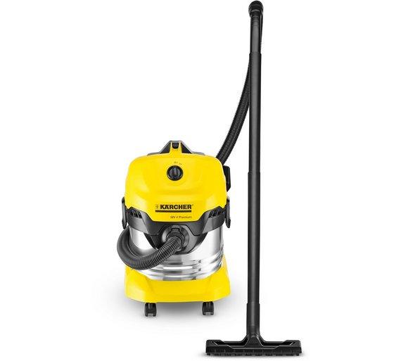 buy karcher wd 4 premium wet and dry multi vacuum at your online shop for carpet. Black Bedroom Furniture Sets. Home Design Ideas