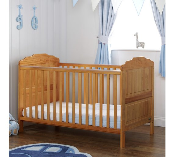 buy obaby beverley cot bed country pine at. Black Bedroom Furniture Sets. Home Design Ideas