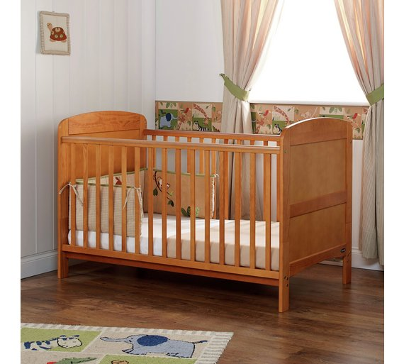 Click to zoom. Buy Obaby Grace Cot Bed   Country Pine at Argos co uk   Your