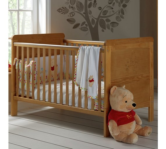 buy winnie the pooh deluxe cot bed at your. Black Bedroom Furniture Sets. Home Design Ideas