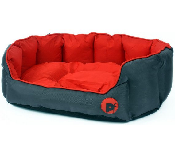 Buy Oxford Oval Red Dog Bed - Large at Argos.co.uk - Your