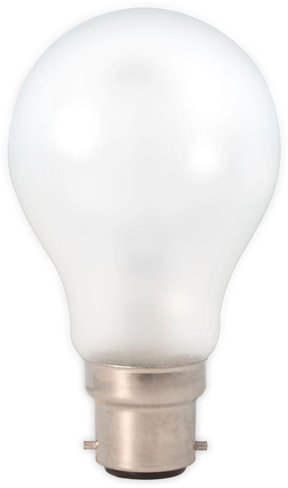 Image of Calex 6W LED Filament GLS B22 Warm White Frosted Glass Bulb