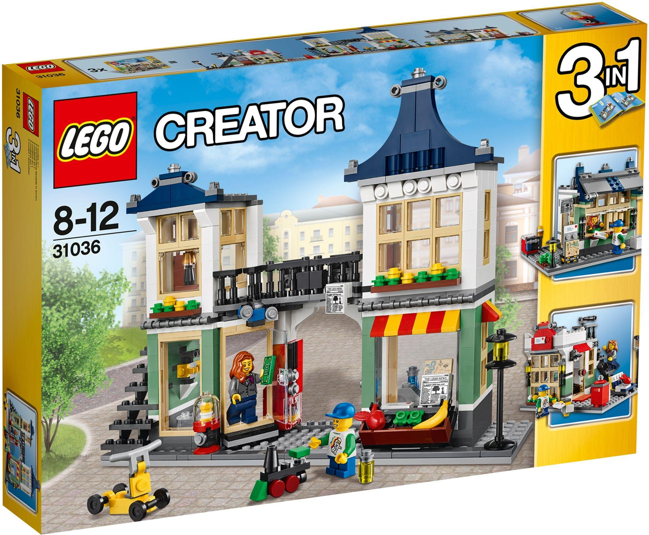 LEGO - Toy and Grocery Shop - 31036