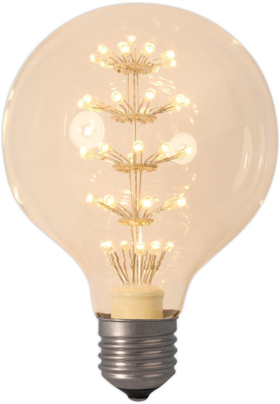 Image of Calex Decorative Pearl LED 95mm Large Globe Warm White Bulb.
