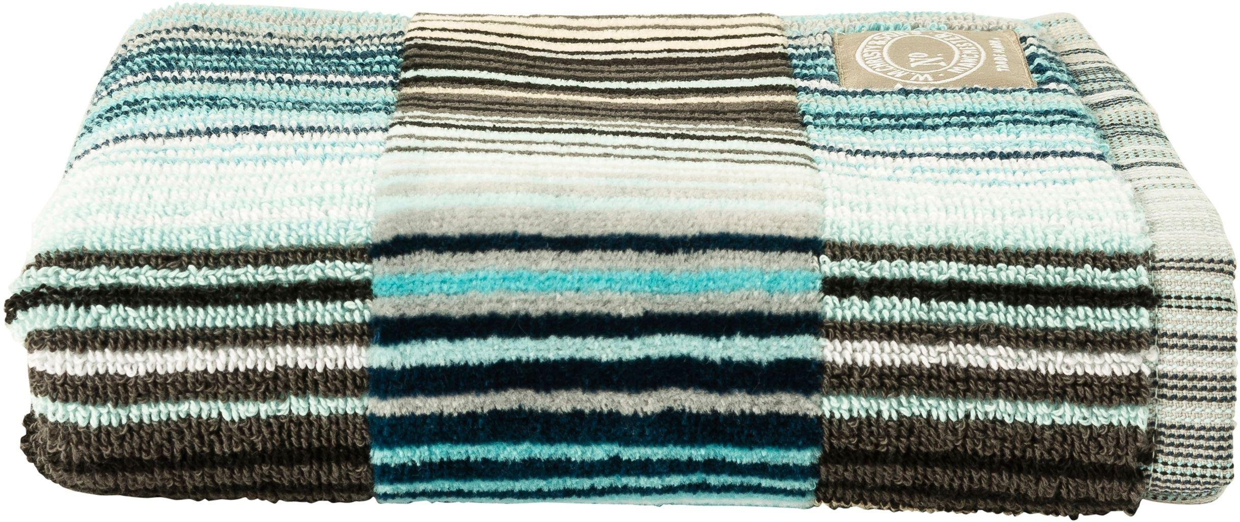 Image of Christy - Supreme Capsule Stripe Guest - Towel - Aqua