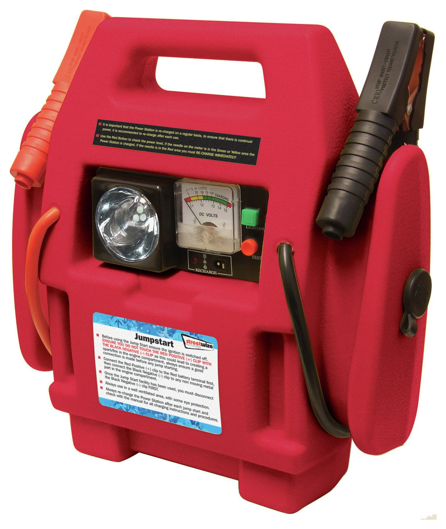 Streetwize 12V Power Stations for Vehicles up to 2500cc