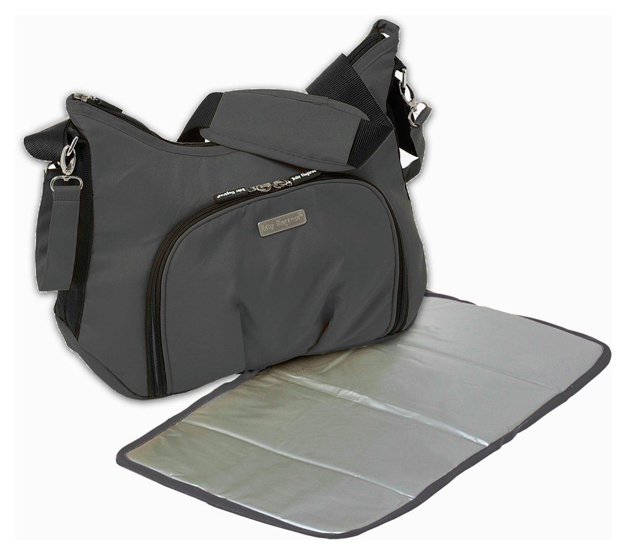 Image of Baby Elegance Cody Saddle Bag - Black.