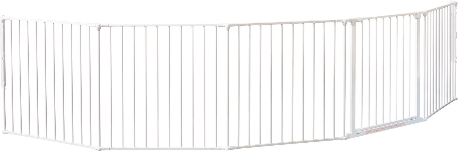 BabyDan XXL Room Gate Divider - White