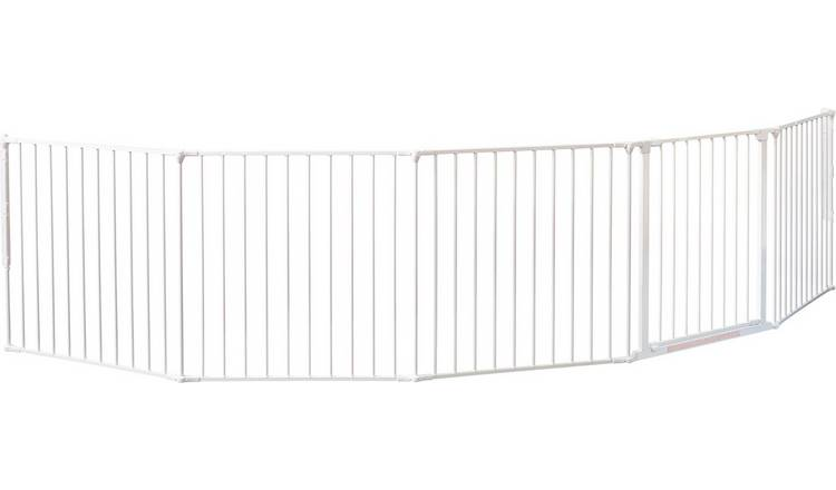 BabyDan XXL Room Divider Safety Gate - White