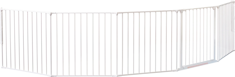 Image of BabyDan XXL Room Gate Divider - White.