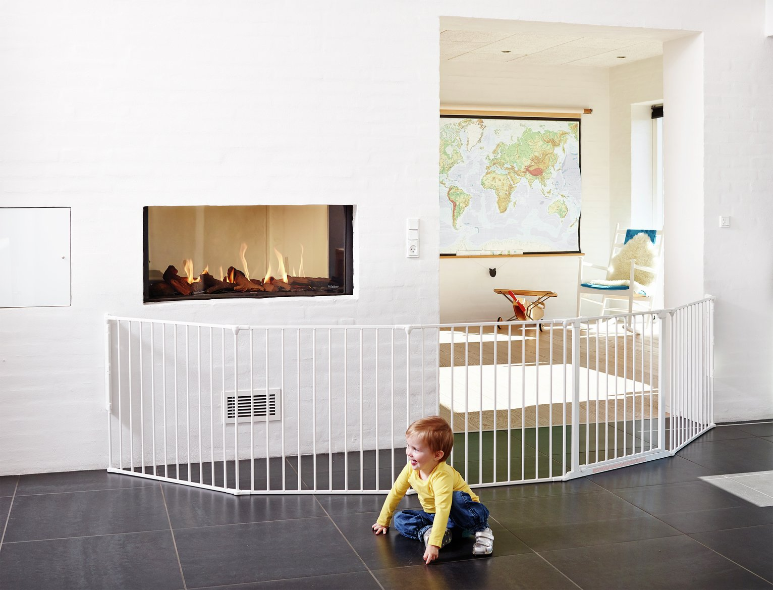 Buy BabyDan XXL Room Gate Divider White Playpens Argos