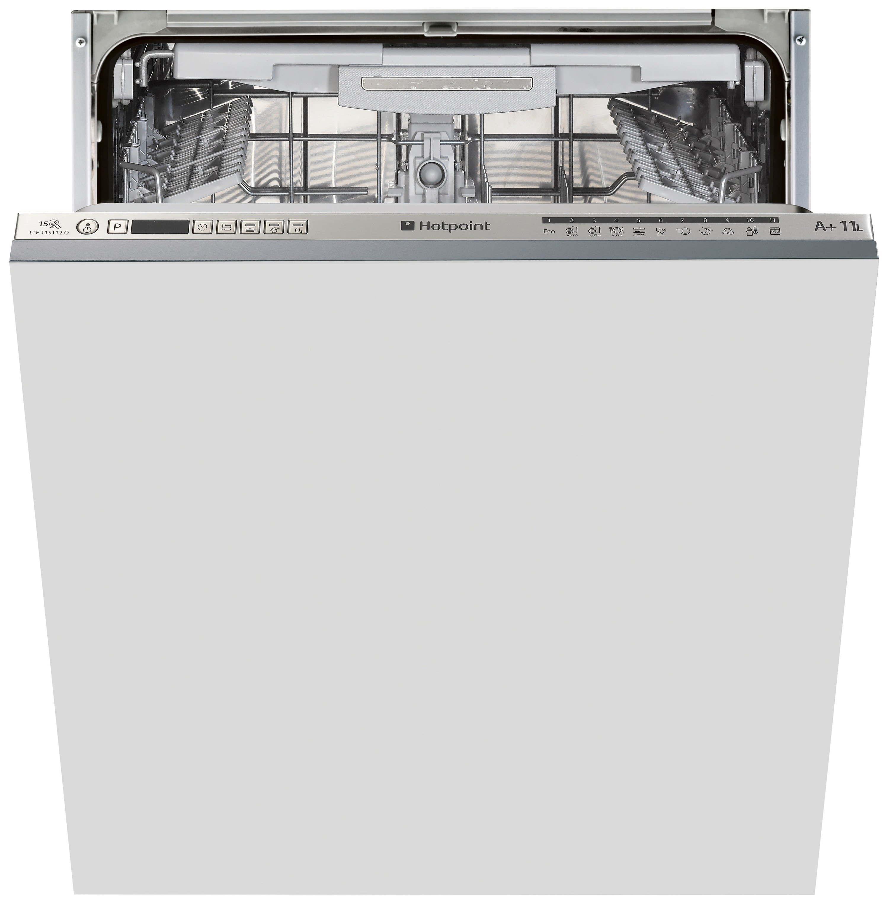 Image of Hotpoint Ultima LTF 11S112O Built-in Dishwasher - S/Steel