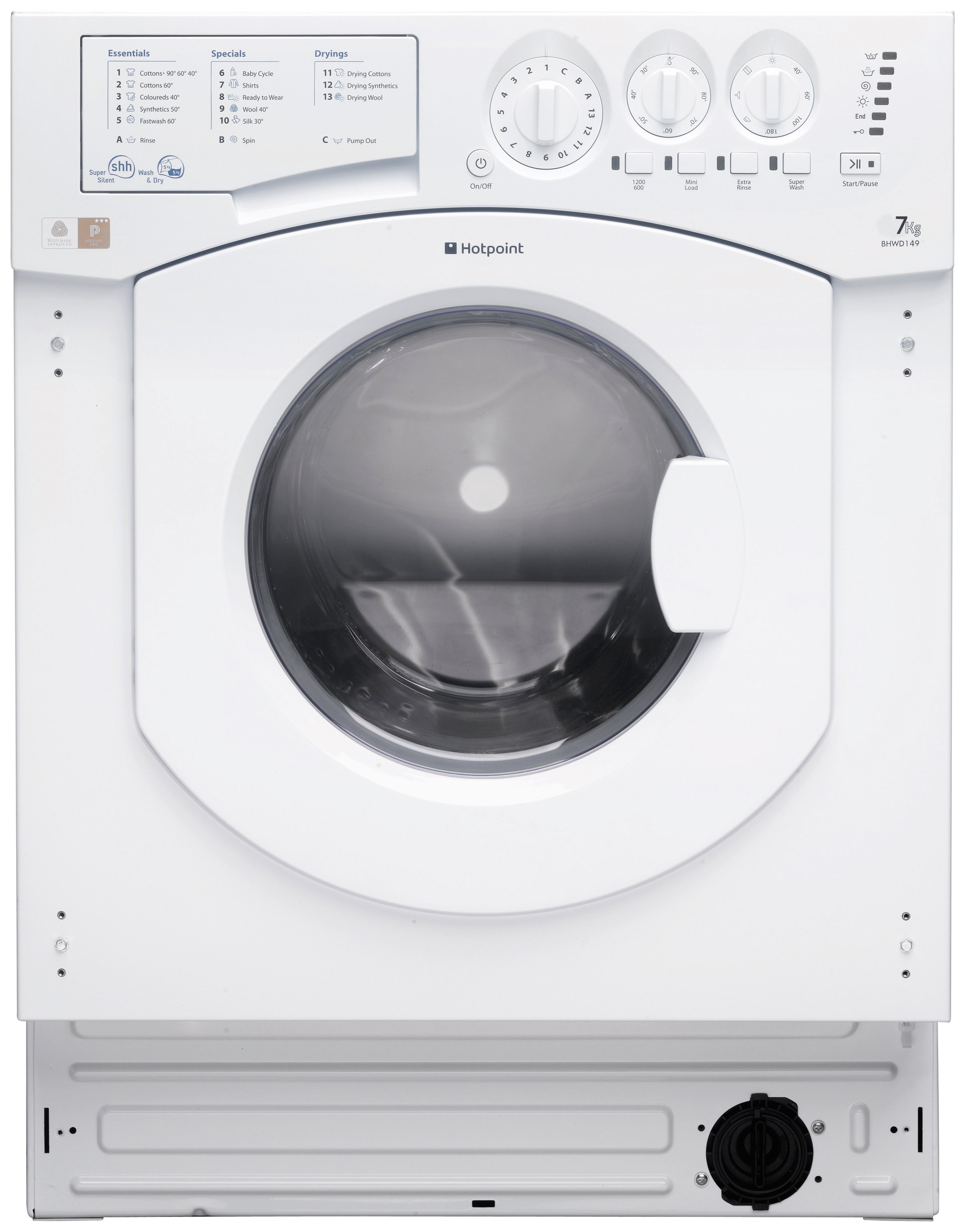 Image of Hotpoint BHWD149 builtin   .