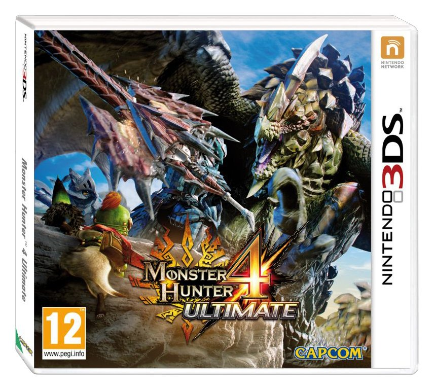 Capcom Monster Hunter 4 3DS Game.