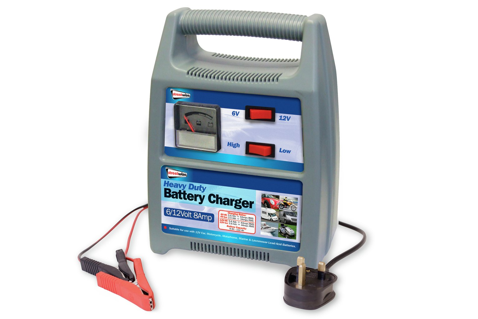 Streetwize 8amp 12V Automatic Battery Charger. review