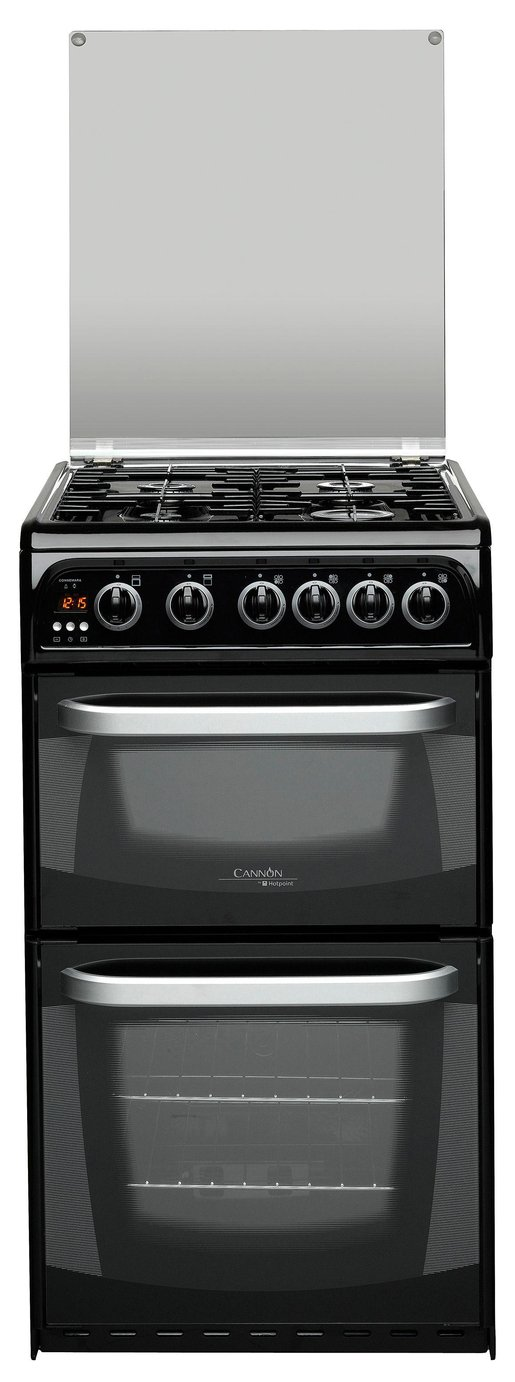 Hotpoint CH50GCIK Single Gas Cooker - Black