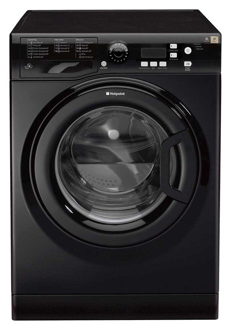 Hotpoint - WMXTF842KUK 8KG 1400 Spin - Washing Machine - Black