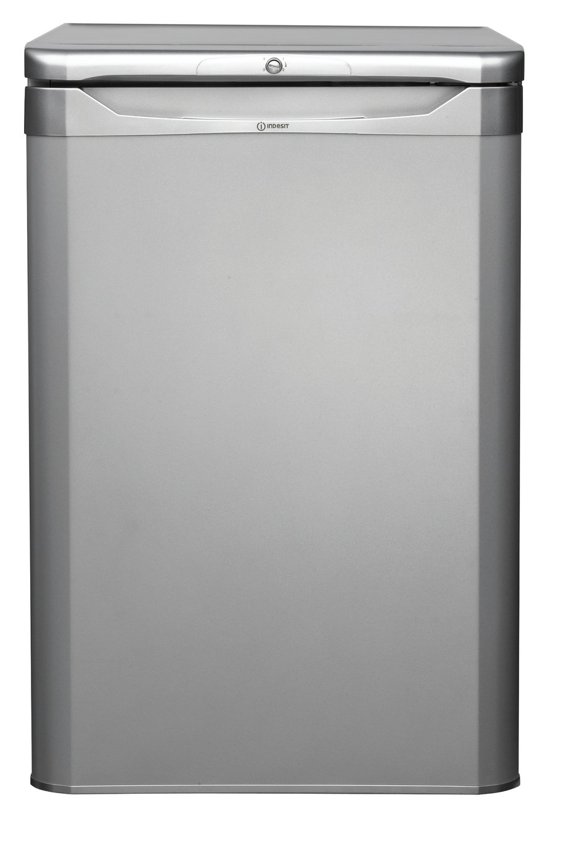 Indesit TLAA10S Freestanding Under Counter Fridge - Silver.