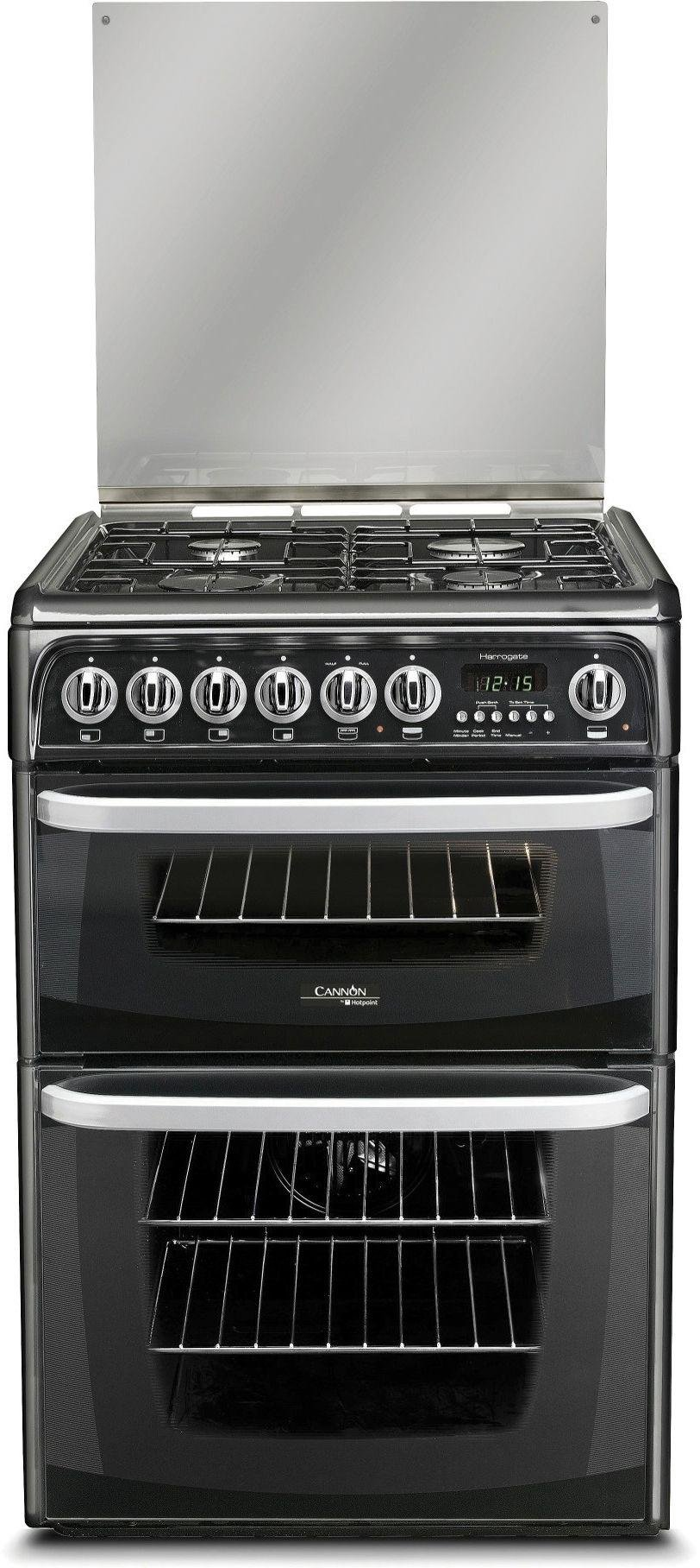 Hotpoint Cannon CH60GCIK Gas Cooker - Black.