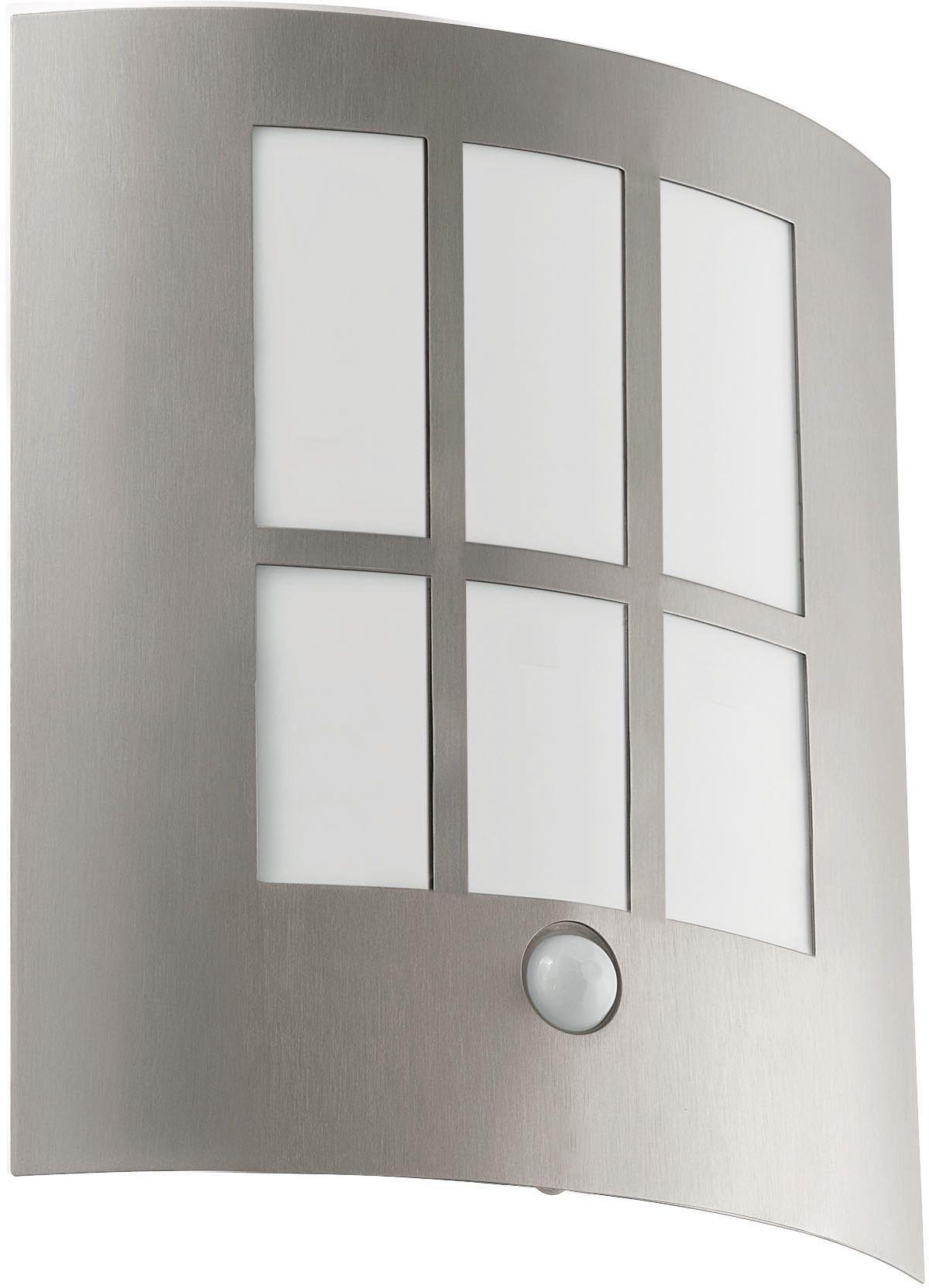 Eglo - City Outdoor LED Sensor Wall Light