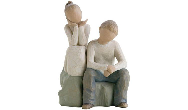 Willow Tree Brother and Sister Figurine.