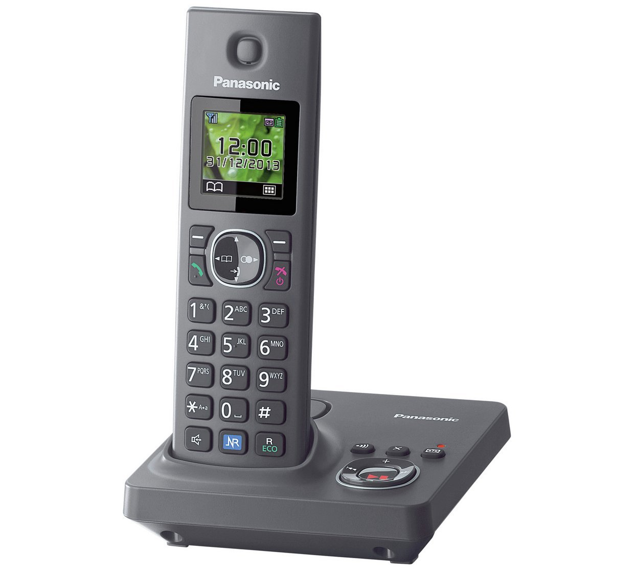 Panasonic - KX-TG7921E - Cordless Telephone/Answer M/c - Single