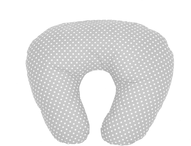 Image of Baby Elegance - Nursing Pillow - Grey Dot