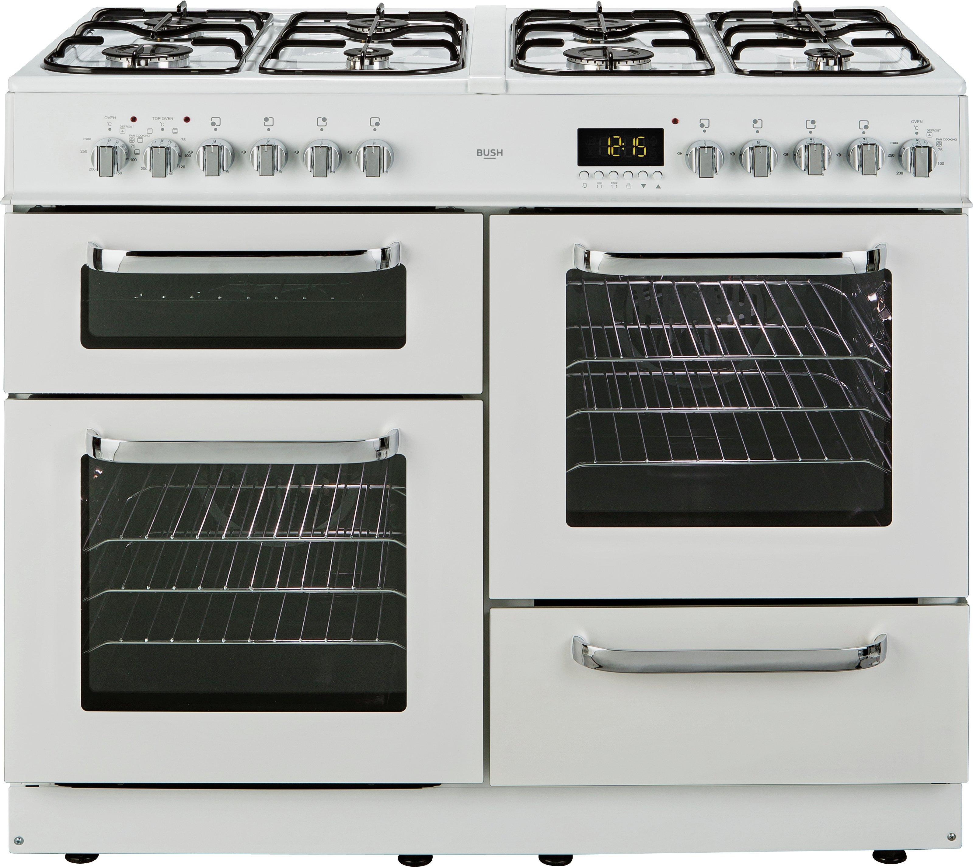 Bush BCLU100DFW Dual Fuel Large Kitchen Appliances Price