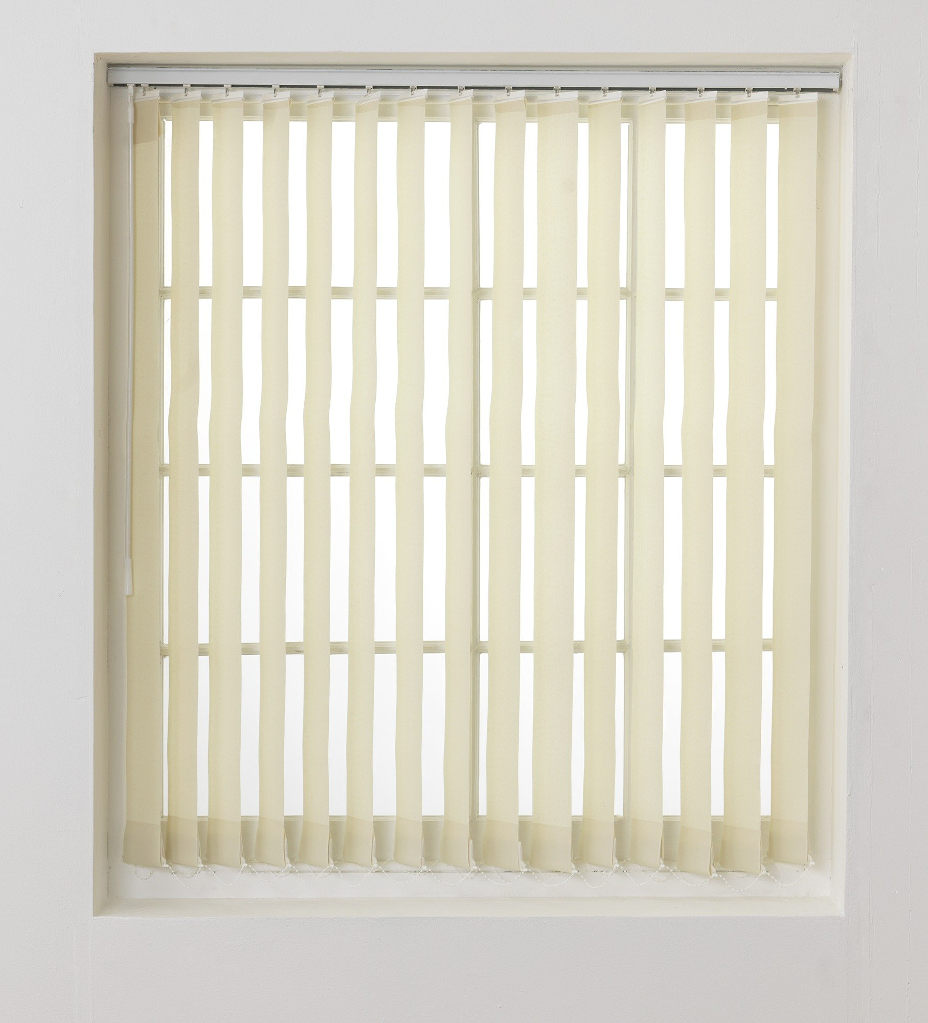Argos Home Vertical Blind Slats Pack - 4.5ft - Cream