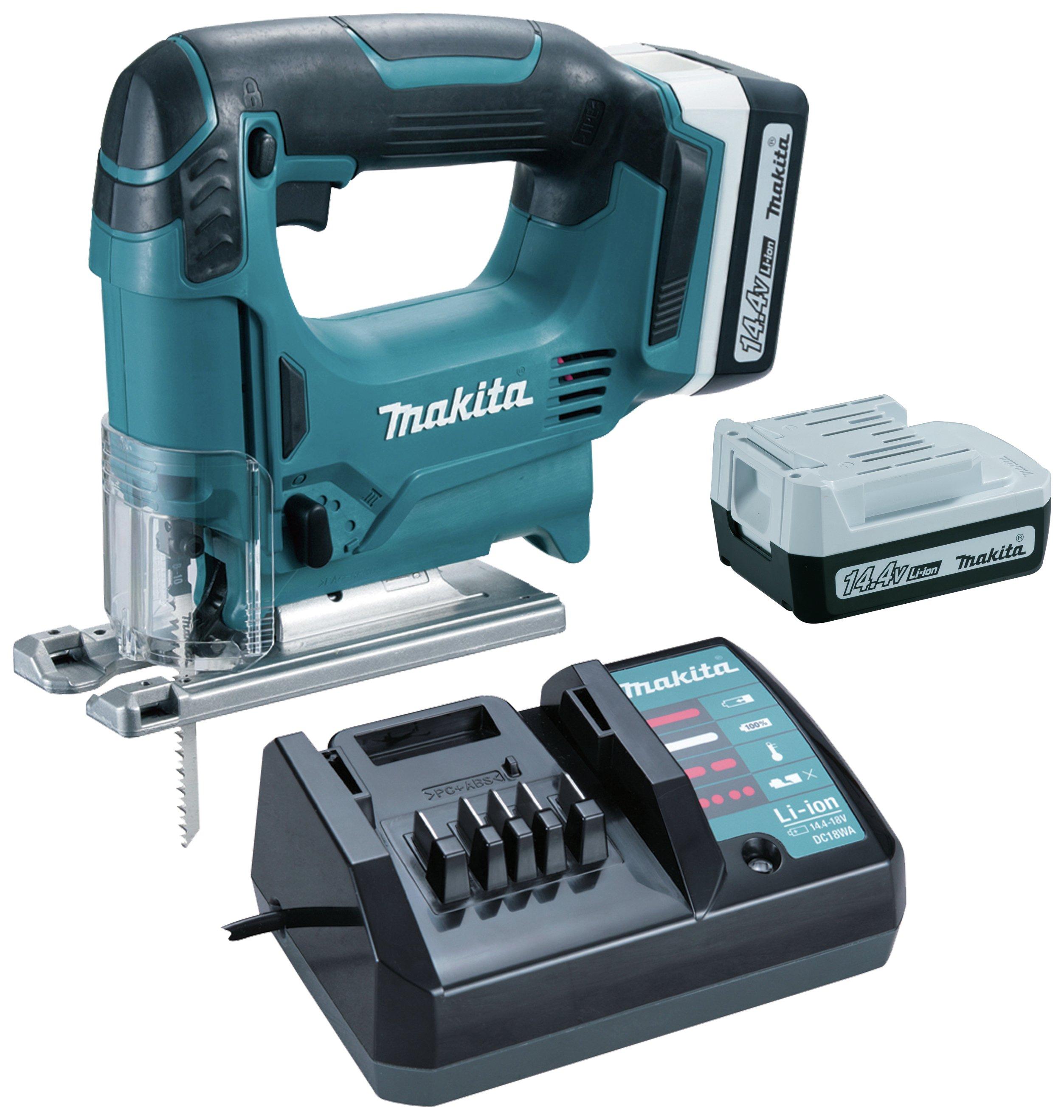 Makita - 144v Li-on Jigsaw with 2 Batteries lowest price
