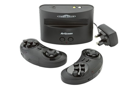 Sega Megadrive With 80 Built-In Games