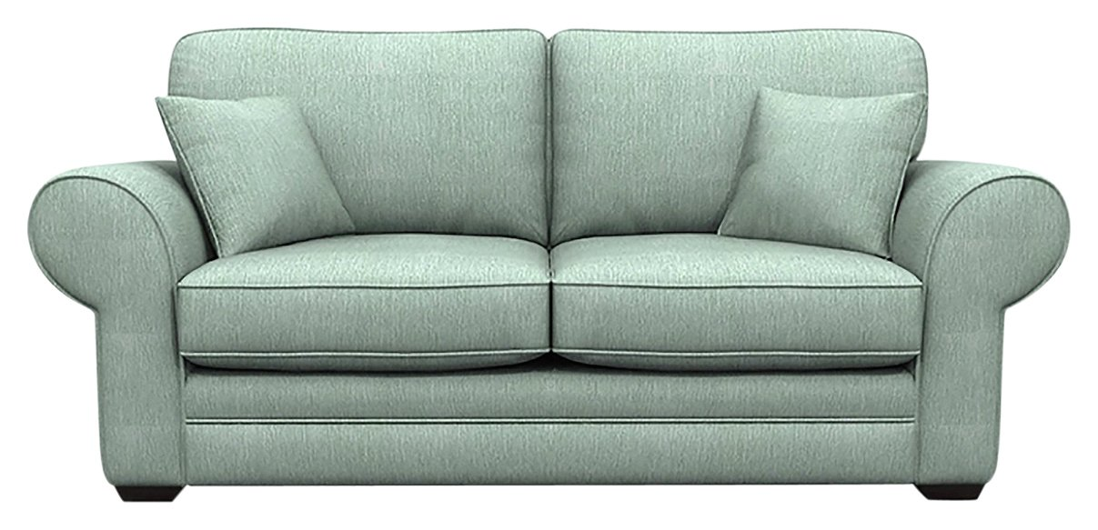 Image of Heart of House Chedworth 2 Seater Sofa Bed - Blue
