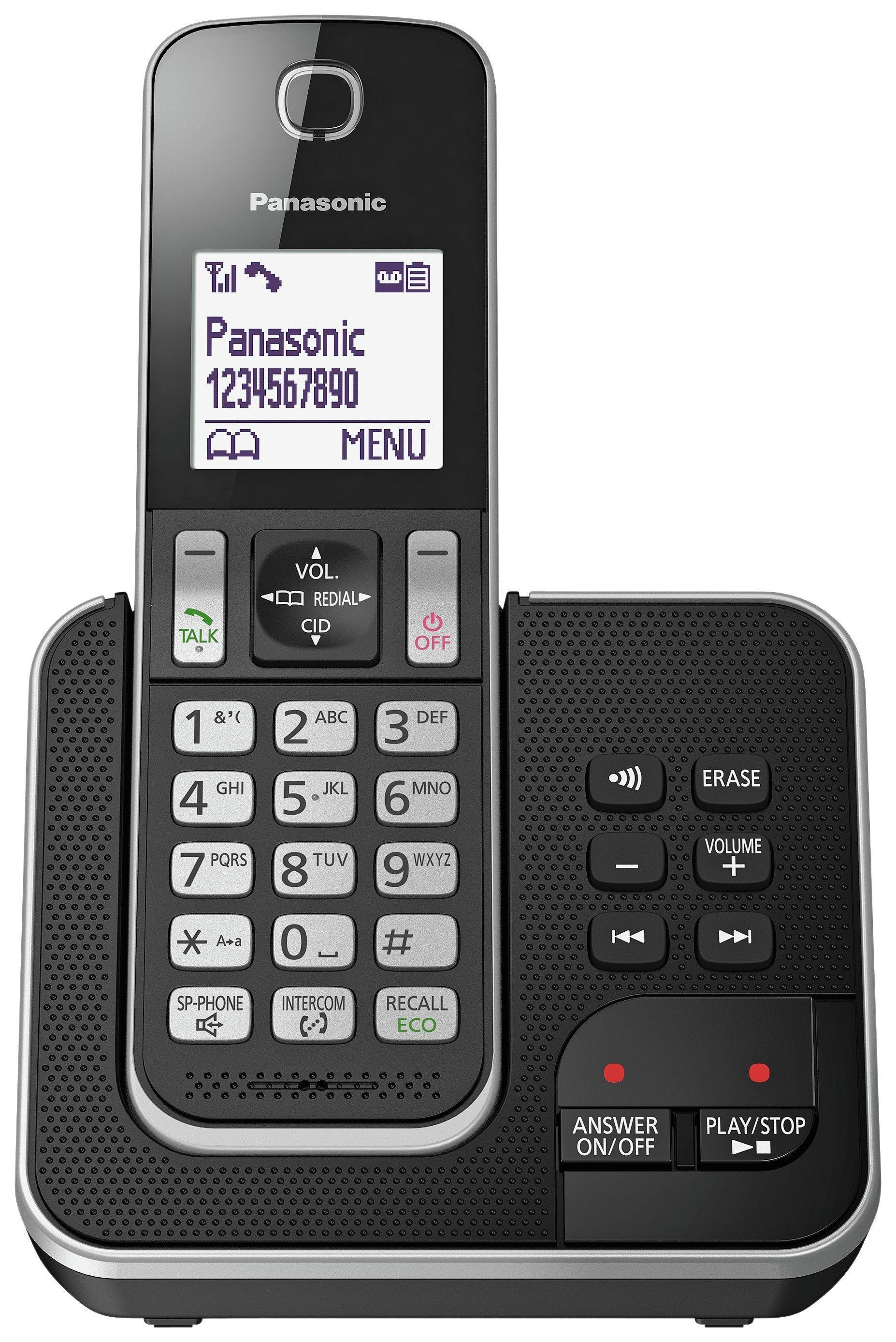 Panasonic Panasonic - KXTGD320 - Cordless Telephone & Answer Mc-Single