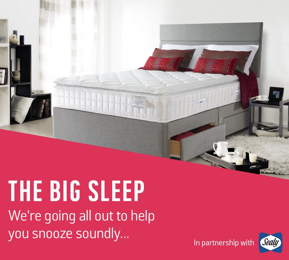 The Big Sleep. We're going all out to help you snooze soundly…