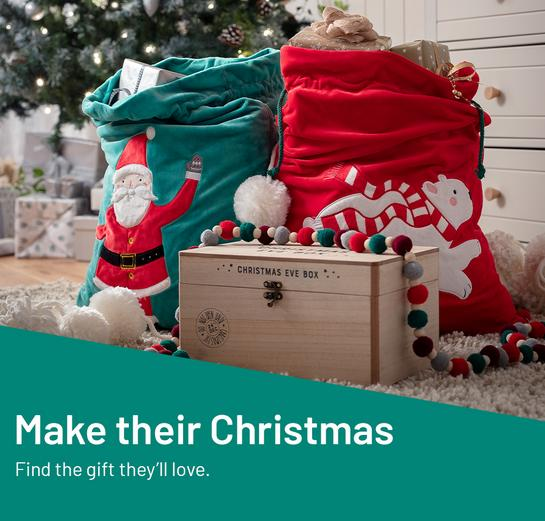 Make their Christmas. Find the gift they'll love.